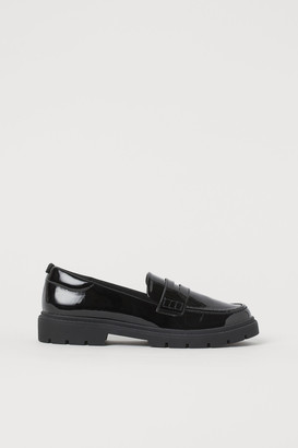 H&M Patent Loafers
