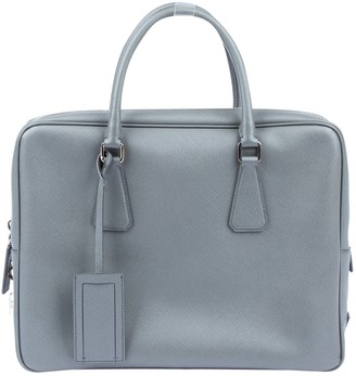 Prada \N Grey Leather Bags