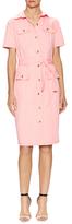 Carolina Herrera Front Flap Pockets Shirtdress