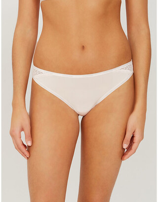 Calvin Klein Flirty stretch-jersey briefs