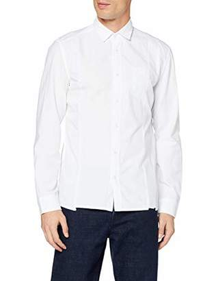 Marc O'Polo Denim Men's 767142242540 Dress Shirt, (White 100), M