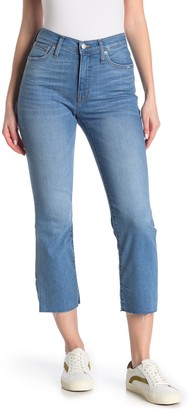 Madewell Cali Demi Bootcut Raw Crop Jeans (Regular & Plus Size)