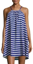 Kate Spade Striped Cover-Up Dress