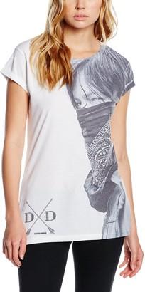The Walking Dead Women's Daryl Large Face Bandana W T-Shirt