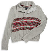 Nautica Boys 8-20 Chevron Knit Sweater