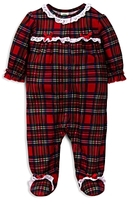 Little Me Girls' Plaid Footie - Baby