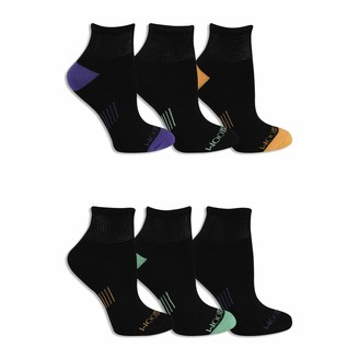 Fruit of the Loom Women's Everyday Active No Show Socks-6 Pair Pack