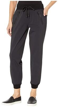 Blanc Noir New Getaway Joggers (Black) Women's Casual Pants