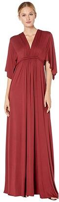 Rachel Pally Jersey Long Caftan Dress (Gamay) Women's Dress