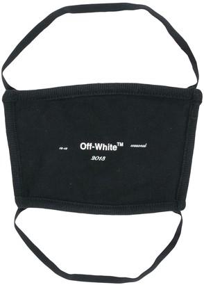 Off-White Logo Print Face Mask