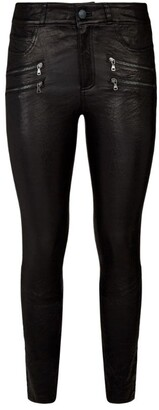 Paige Edgemont Leather Trousers