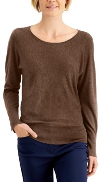 JM Collection Rivet Dolman-Sleeve Top, Created for Macy's