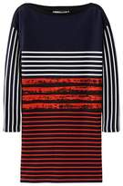 Petit Bateau Cédric Charlier womens contrasting straight dress