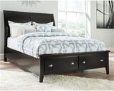 Signature Design by Ashley Braflin Footboard/Under Bed Drawers