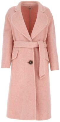 Miu Miu Mid Length Belted Coat