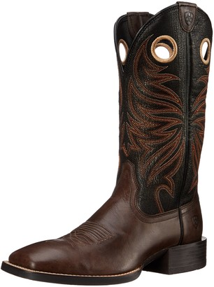 Ariat Men's Sport Rider Wide Square Toe Western Cowboy Boot