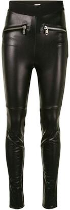 Cinq à Sept Front Zip-Detail Trousers