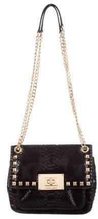 0f5c6d5b7443 Michael Kors Suede Handbag - ShopStyle