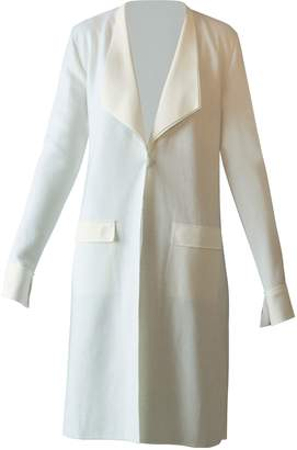 Chiara Boni Brady Coat White