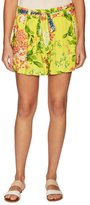 Plenty by Tracy Reese Daytime Print Belted Short