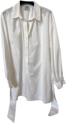 Baum und Pferdgarten White Cotton Dresses