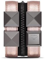 Karl Lagerfeld Zip Watch, 17.5mm