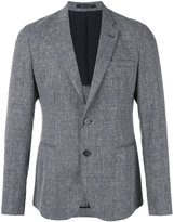Emporio Armani two button blazer - men - Cotton/Linen/Flax/Viscose/Virgin Wool - 48