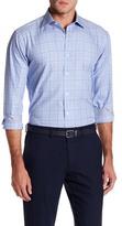 Bugatchi Plaid Woven Shaped Fit Shirt