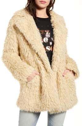 BP Faux Fur Teddy Coat