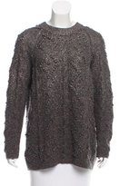 Tory Burch Oversize Cable Knit Sweater