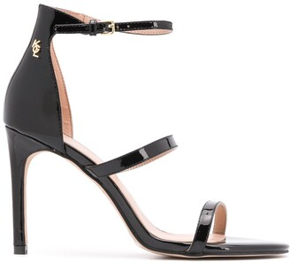 Kurt Geiger Park Lane strap heeled sandals