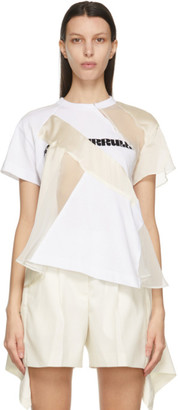 Sacai White Hank Willis Thomas Edition Cotton Jersey T-Shirt