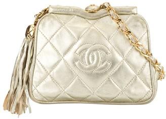 Chanel Pre Owned 1990s Tassel Detail Chain Belt Bag