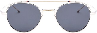 Thom Browne Round Aviator Sunglasses