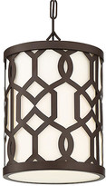Crystorama Jennings Outdoor Pendant - Bronze/Frosted