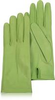 Forzieri Women's Mint Unlined Italian Leather Gloves