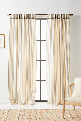 """Anthropologie Fatima Curtains, Set of 2 By in Blue Size 50"""" X 96"""""""