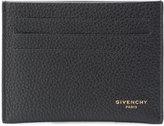 Givenchy logo stamp cardholder - men - Leather - One Size