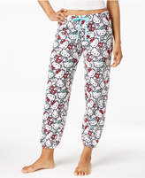 Hello Kitty Plush Jogger Pajama Pants