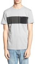 RVCA Men's 'Three O'Clock' Pocket Crewneck T-Shirt