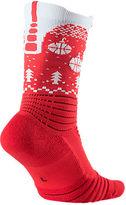 Nike Unisex Elite Versatility Christmas Crew Basketball Socks