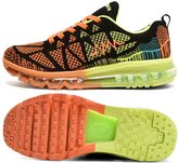 L-RUN Men's Fashion Sneakers Durable Skidproof Running Shoes 8 M US