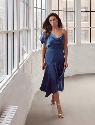 Forever New Ariana One-Shoulder Dress - Solar Eclipse - 6