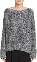 Vince Marled Wool & Cashmere Boatneck Sweater