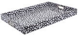Oscar de la Renta Black Gardenia Serving Tray