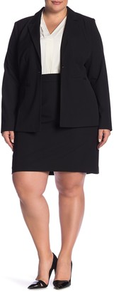Halogen Ela Suit Skirt (Plus Size)
