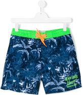 Vingino neon detailing swim shorts - kids - Polyester - 14 yrs