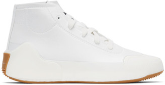 adidas by Stella McCartney White Treino Mid-Cut Sneakers