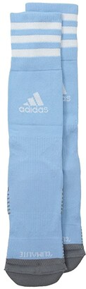 adidas Kids Copa Zone Cushion IV Over the Calf Sock (Toddler/Little Kid) (White/Black) Kids Shoes