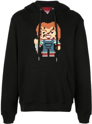 Mostly Heard Rarely Seen 8-Bit Watch Out hoodie